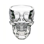 Pirate's Blood Skull Glass Set of 2