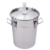 Portless 7 gal (27 l) UniVessel - Stainless Steel Fermenter
